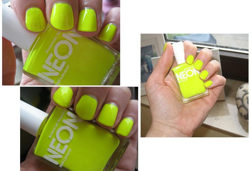 Neon-Nagellack - LA MODE ET MOI, der Blog aus Köln