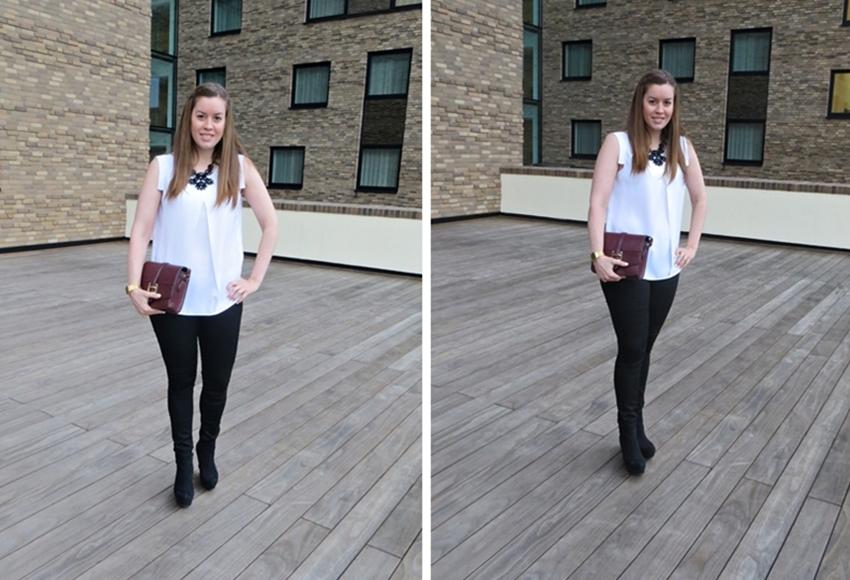 Monochrome Look - LA MODE ET MOI, der Modeblog