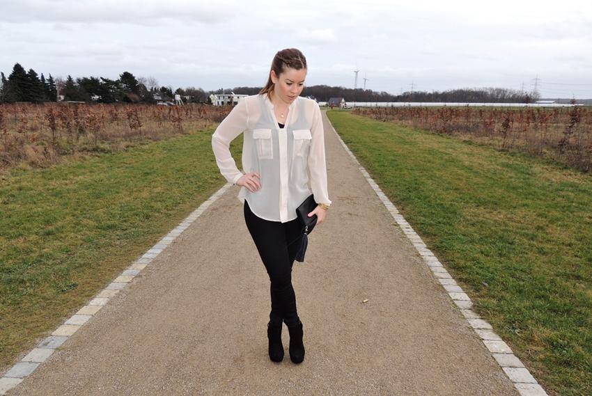 transparente Bluse - LA MODE ET MOI, der Modeblog