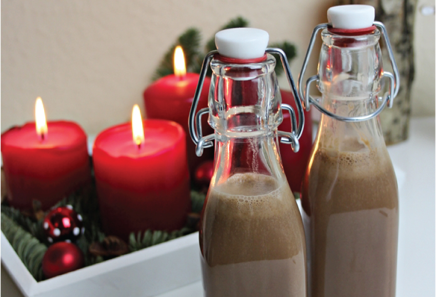 Weihnachtsgeschenk aus der Küche: Nutella-Likör - LA MODE ET MOI