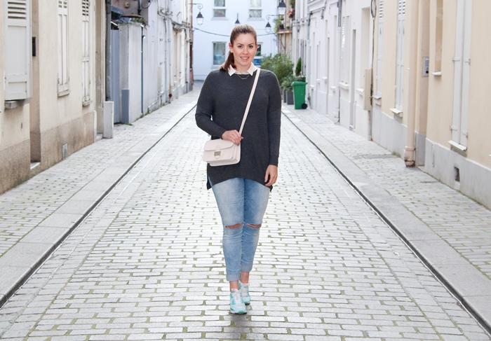 Easy outfit with Nike Air Max for a walk in Paris auf La Mode et Moi, dem Modeblog aus Köln