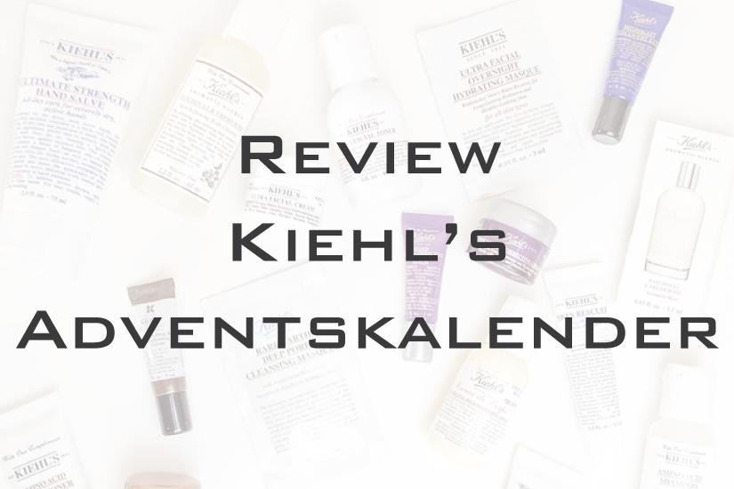 Der Kiehl's Adventskalender auf La Mode et Moi, dem Modeblog aus Köln