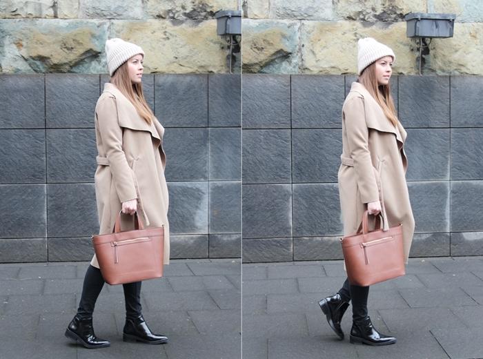 Nude Look with Camel Trenchcoat - auf La Mode et Moi, dem Modeblog aus Köln