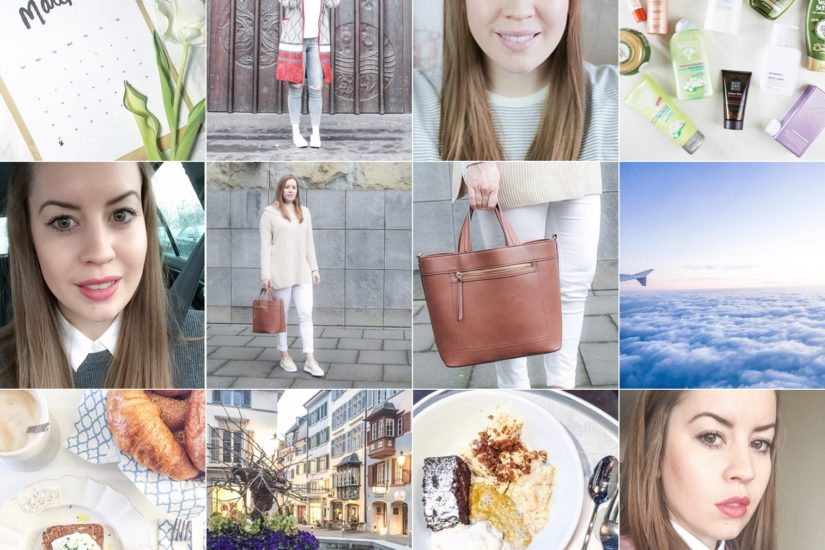 #mondaytalk Instagram Review March @lamodeetmoi - auf dem Modeblog La Mode et Moi