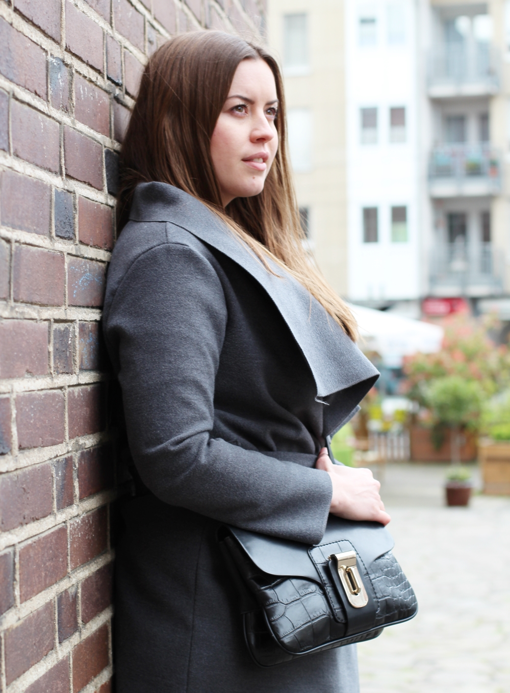 All grey black look in May auf La Mode et Moi, dem Modeblog aus Köln