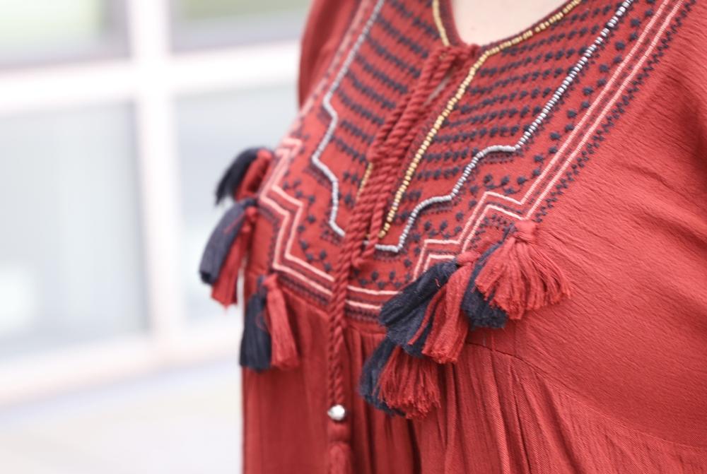 Boho Tunika und Birkenstock Arizona - La Mode et Moi, der Modeblog aus Köln