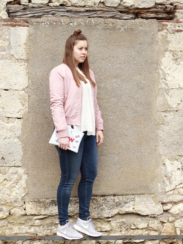 Rosa Bomber 2., La Mode et Moi - der Modeblog aus Köln