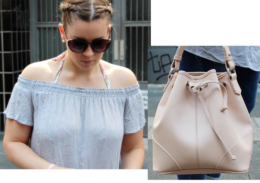 Off-Shoulder-Bluse trotz großer Oberweite? - La Mode et Moi, der Modeblog aus Köln