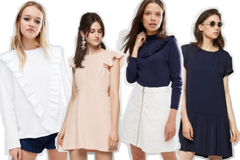 So stylst du den Rüschen-Trend - La Mode et Moi, der Modeblog aus Köln