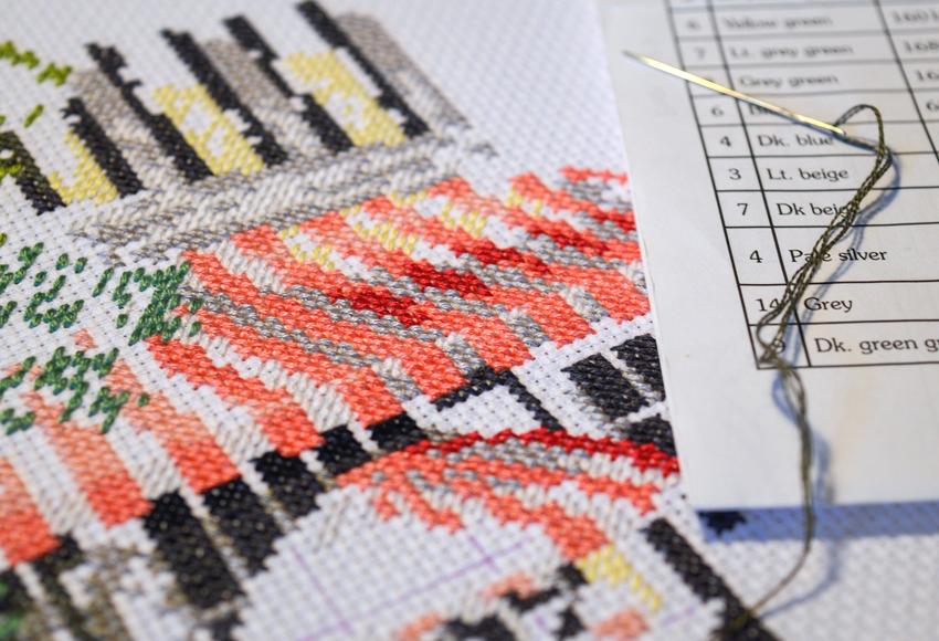 Malst du noch oder stickst du schon? - Sticken Trend auf LA MODE ET MOI, der Modeblog aus Köln