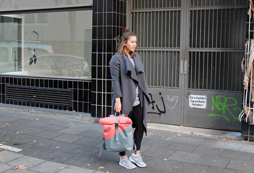 Easy Shopping Look mit Blosom Rucksack - La Mode et Moi, der Modeblog aus Köln