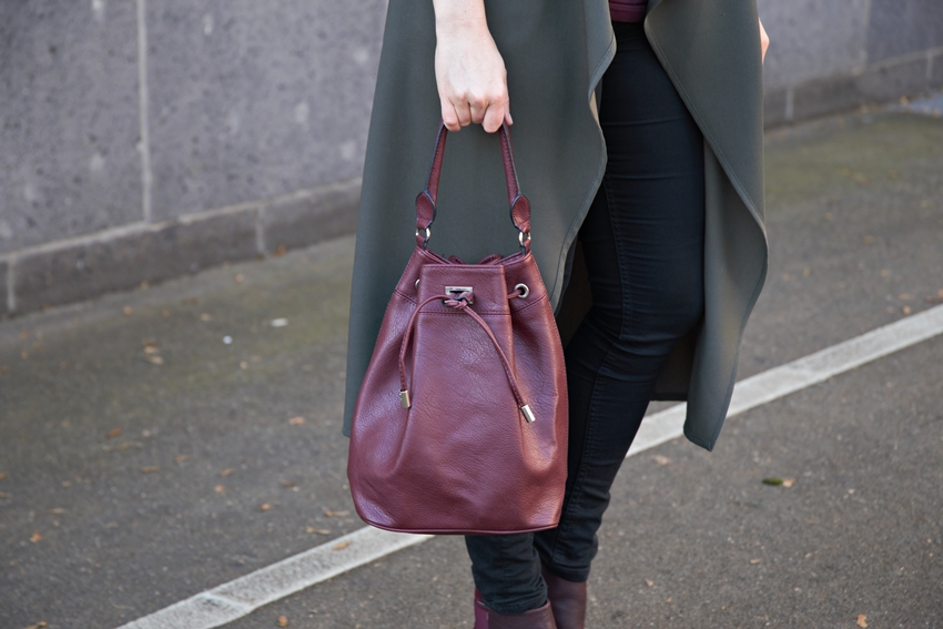 Sol Sana-Stiefeletten mit khaki Longcardigan - LA MODE ET MOI, der Modeblog aus Köln