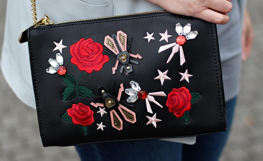 Bestickte Tasche am Casual Friday - LA MODE ET MOI, der Blog aus Köln