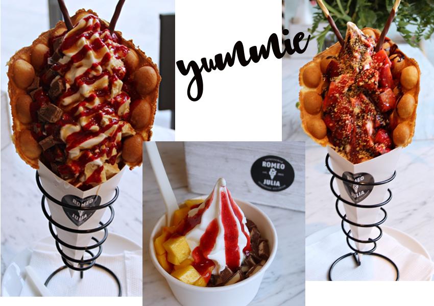 Romeo und Julia in Köln, Romeo und Julia Café, Café-Tipp Köln, Egg Waffles, Smoothies Köln, Frozen Yoghurt Köln, Blog Köln