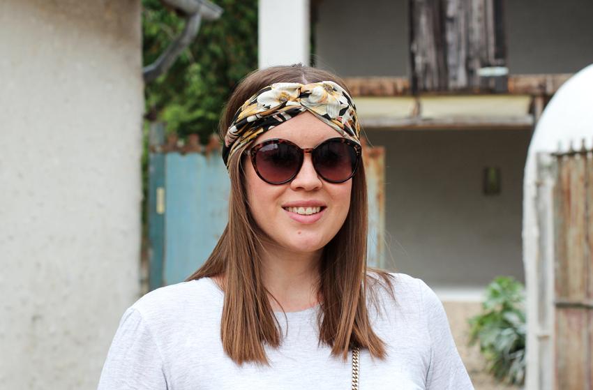 Midi-Rock aus Spitze und Turban-Sommerhaare - La Mode et Moi, der Modeblog