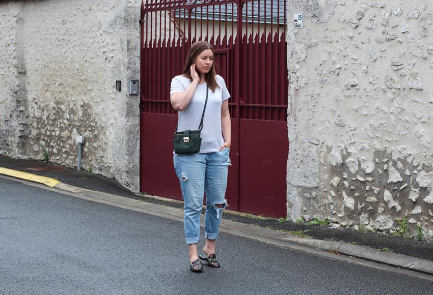 Alltagslook mit Slippern - LA MODE ET MOI, der Modeblog