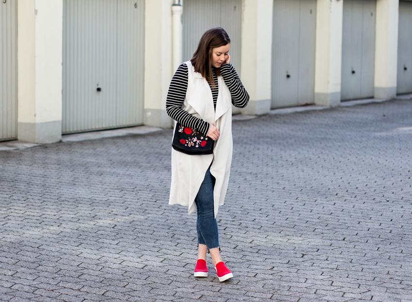 Rote Slip-on-Sneaker - LA MODE ET MOI, der Modeblog