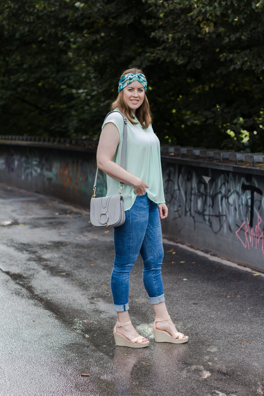 Sommerfrisur mit Bandana - LA MODE ET MOI, der Modeblog
