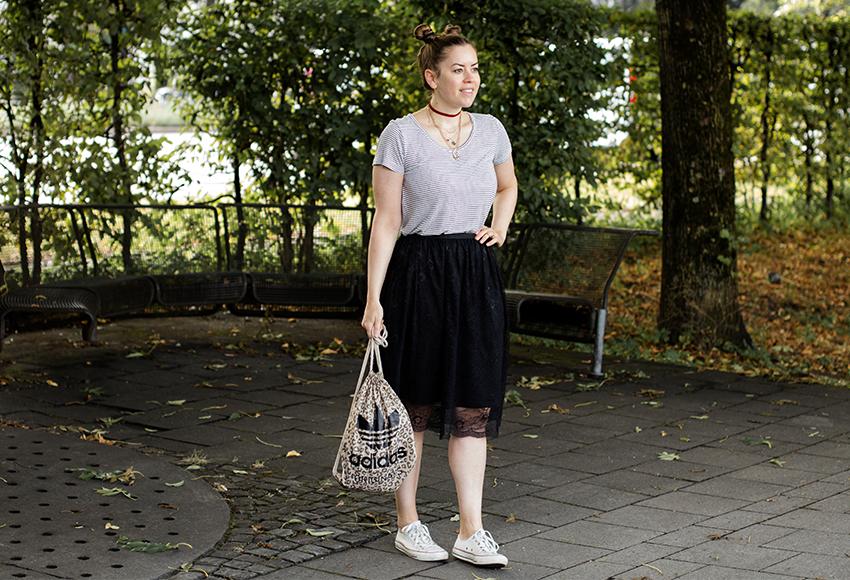 Festival Style mit Double Bun - LA MODE ET MOI, der Modeblog
