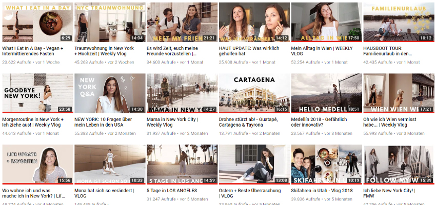 Meine 3 Lieblings-Youtube-Cannel - LA MODE ET MOI, der Modeblog