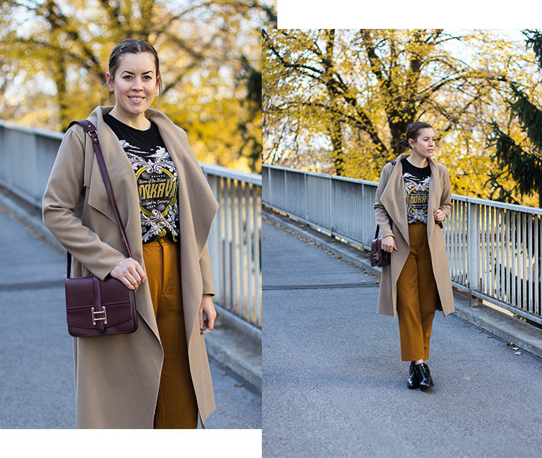 Wie du zu jedem Hautton Senfgelb kombinieren kannst - THE BUTTON by Emilie, der Modeblog