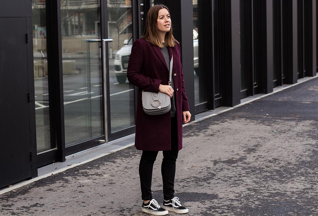 Der Blazermantel als Übergangsjacke - THE BUTTON by Emilie, der Modeblog