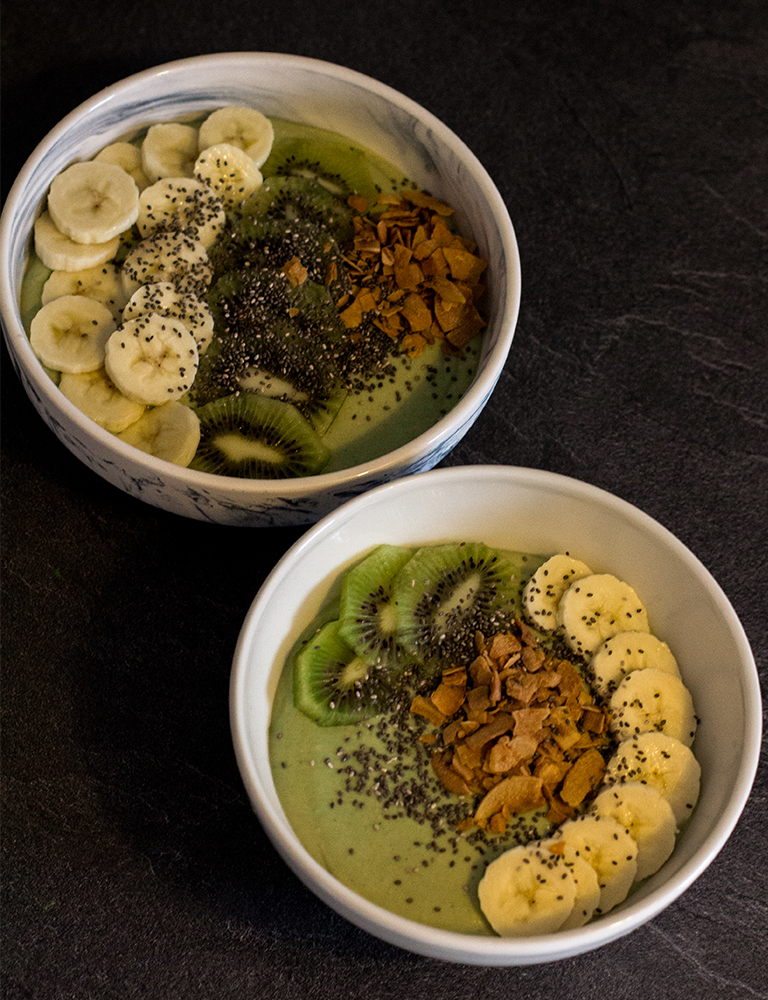 Gesund frühstücken: Glutenfreie Matcha-Bowl - LA MODE ET MOI