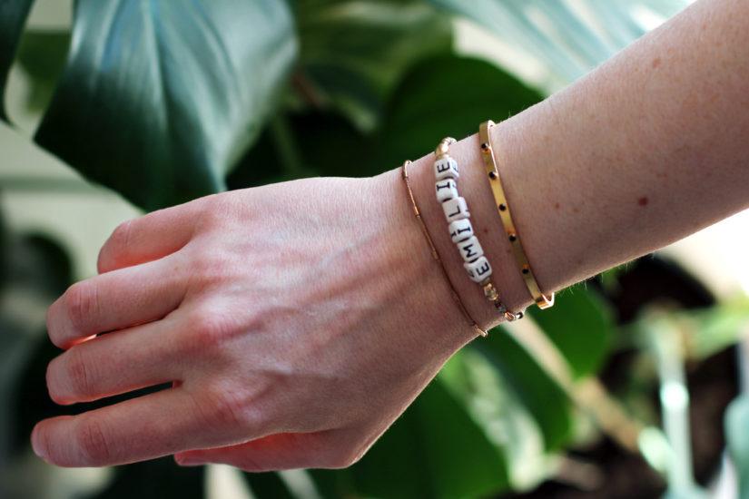 Schlichter Schmuck: Armbänder - THE BUTTON by Emilie, der Modeblog