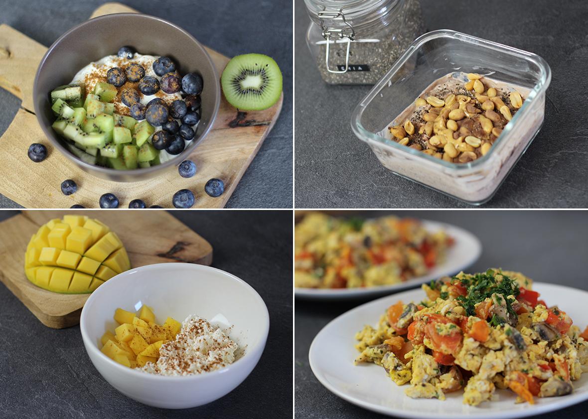 4 low carb und glutenfreie Frühstücksideen - LA MODE ET MOI, der Zöliakie-Blog