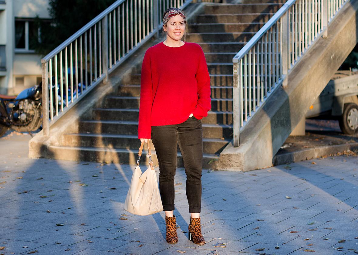 Die Farbe Rot und Leo Boots - LA MODE ET MOI, der Modeblog