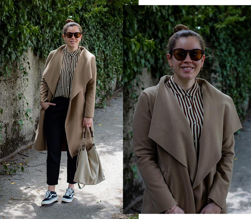 Leichter Camel Mantel - LA MODE ET MOI, der Modeblog