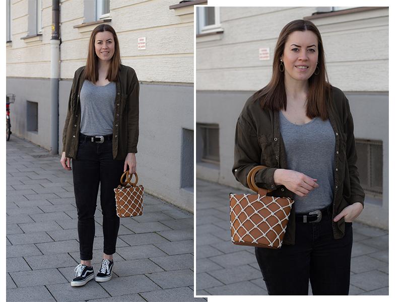 Workwear Trend Styling: Utility Bluse im Alltag - LA MODE ET MOI, der Modeblog