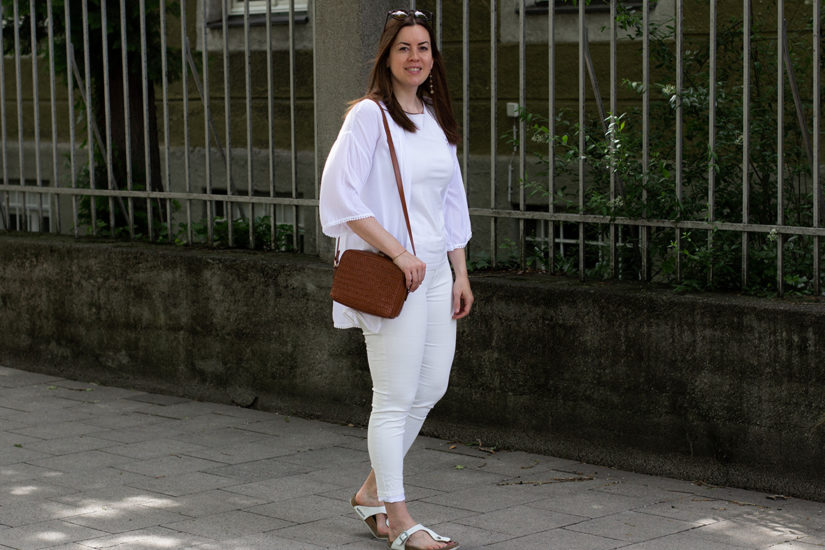 All White Look für den Sommer - THE BUTTON by Emilie, der Modeblog