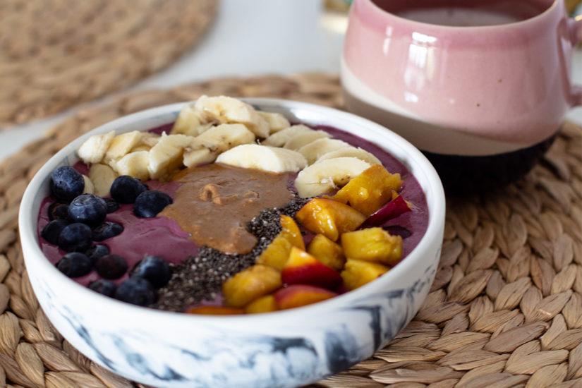 Glutenfreie Acai-Bowl: Frühstück in 5 Minuten - LA MODE ET MOI, der Zöliakieblog