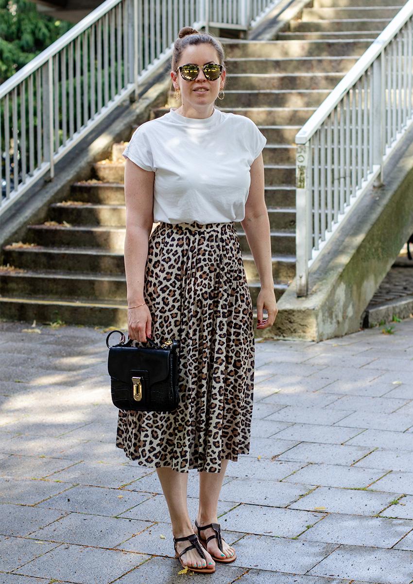 Mein Leo Rock sommerlich kombiniert - LA MODE ET MOI, der Modeblog