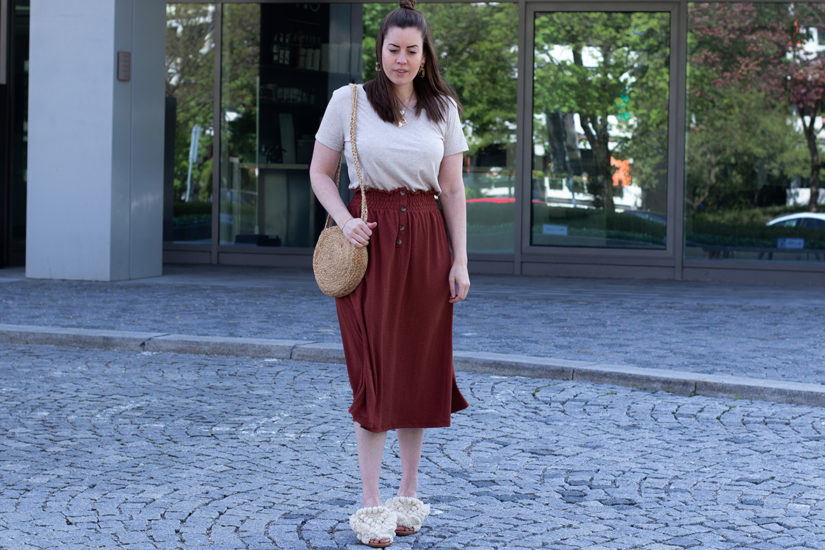 Boho Look in Erdtönen - THE BUTTON by Emilie, der Modeblog