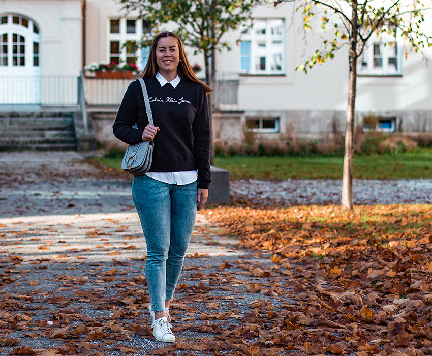 Logo Sweater: Mein Pullover Style - LA MODE ET MOI, der Modeblog