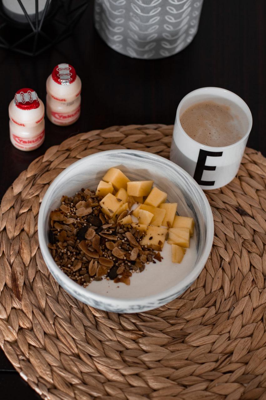 Glutenfreie Frühstücksideen für Meal Prep mit Yakult - LA MODE ET MOI, der Zöliakieblog